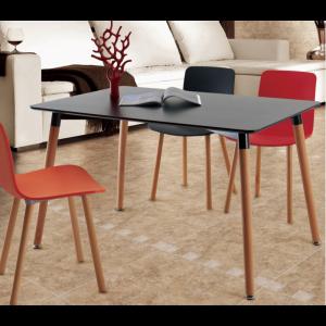 nowoczesny stół z krzesłami