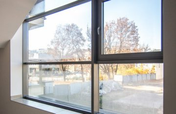 nowoczesne okna aluminiowe stosowane w mieszkanaich