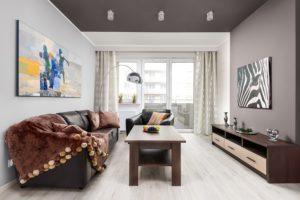 wyposażone mieszkanie